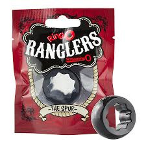ANILLO RING O RANGLERS THE SPUR (NEGRO)