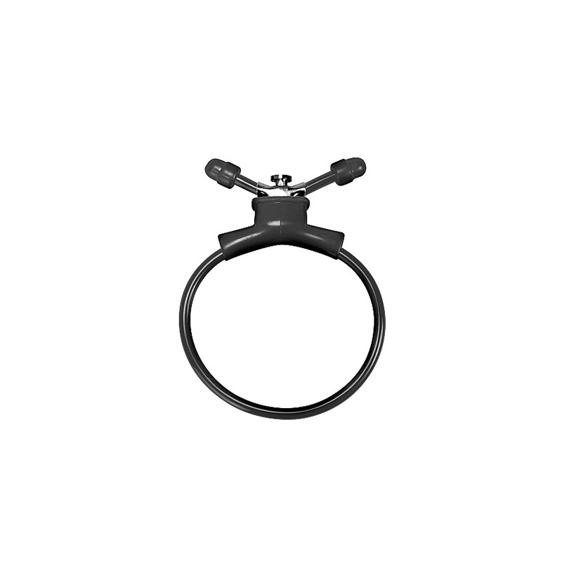 ANILLO AJUSTABLE SHOT TOYS ADJUSTABLE COCK RING (NEGRO)