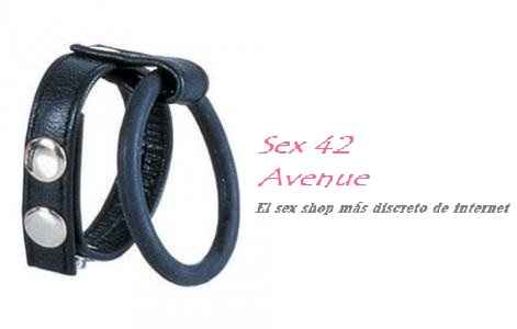 DOBLE ANILLO AJUSTABLE BALL SPREADER M (NEGRO)